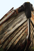 Boat hull — Stock Photo