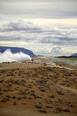 Amazing geothermal landscape — Stock Photo