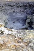 Mud pools Namaskaro — Stock Photo
