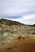 Volanic landscape at Namaskaro — Stock Photo