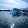 Beautiful blue iceberg — Stock Photo #32669853