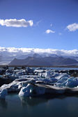 Masses of icebergs — Stock Photo