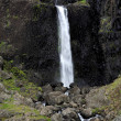 Waterfall Iceland — Stockfoto