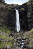 Waterfall Iceland — Stock Photo