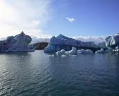 Amazing icebergs — Stock Photo