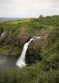 View of Magnustafoss waterfall — Stock Photo