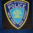 Stock Photo: Port Authority Police Sign, New York