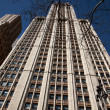 Stock Photo: Looking up at The Woolworth Building, New York