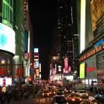 New York at night — Stock Photo #39350663