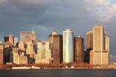 Golden hour, Manhattan — Stock Photo