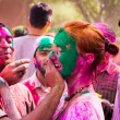 Stock Photo: Holi festival celebrations in India