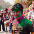 Holi festival celebrations in India — Stock Photo #41680551