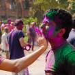 Holi festival celebrations in India — Stock Photo