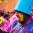 Holi festival celebrations in India — Stock Photo #41680593