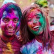 Holi festival celebrations in India — Stock Photo #41680625
