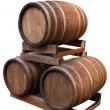 Stock Photo: Barrels.