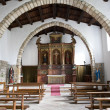 Church of S. Croce ( sec. XVIII), Aggius, North Sardinia, Italy — Stock Photo