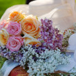 Detail of wedding bouquet. — Stock Photo #28216793