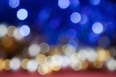 Zlaté, bílé a modré jiskry — Stock fotografie