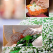 Wedding collage — Stock Photo #28235201