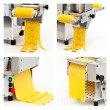 Pasta machine (collage of four photos) — Stock Photo
