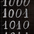 Blackboard with numbers — Foto de stock #28336257