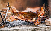 Sardinian barbecue — Stockfoto