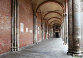 Basilica of Sant'Ambrogio (379-386), Milan, Italy. — Stock Photo
