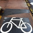 Cycle track — Stock Photo