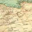 Stock Photo: Old map (1929) of Libya