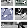Football collage — Stock Photo #28463255