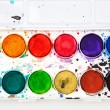 Watercolors in a box — Stock Photo #28539775
