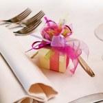 婚礼来宾的礼物 — 图库照片