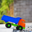 Color toy truck. — Stock Photo