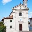 Stock Photo: Church of SCarlo in Costigliole d'Asti, Italy