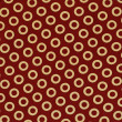 Red and yellow fabric — Stock Photo