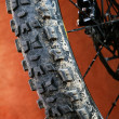 Detail of mountain bike — Stock Photo #29231593