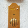 Buzzer on white wall — Stock Photo #30952647