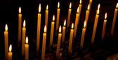 Alight candles — Stock Photo