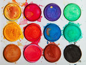 Watercolor or tempera. — Stock Photo