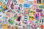 Old postage stamps — Stock Photo