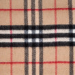 Tartan fabric. — Stock Photo