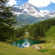 Cervinia, Valle d'Aosta, Italy — Stock Photo