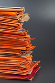Stack of old envelopes — Stock Photo