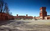 Castle of Pollenzo, Bra, Cuneo. — Stock Photo