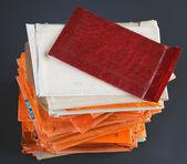 Stack of envelopes — Stock Photo
