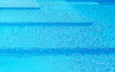 Steps in a swimming pool — Stock Photo