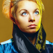 Stock Photo: Portrait of girl in jacket