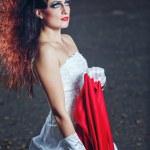 ������, ������: Bride in wedding dress