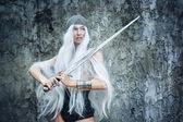 Maiden Warriors — Stock Photo